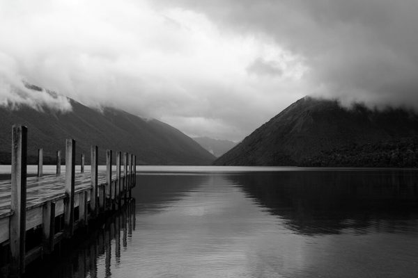NZ jetty 3 by Malcolm Bowling